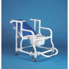 390: Deluxe Reclining Shower/Commode Chair