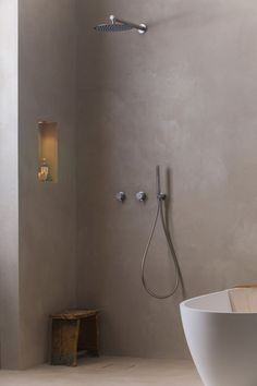 Concrete Studio In Amsterdam, there is only 1 place to go if you are looking for the best choice of Beton-Ciree (micro cement). Other than tiling your bathroom, the concrete is smooth and will add a w