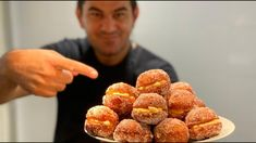 Beignets, Raspberry, Cereal, The Creator, Deserts, Dessert Recipes, Sweets, Fruit, Breakfast