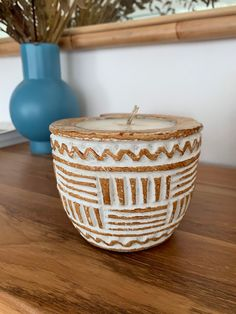 Rustic Candles, Unique Candles, Teak Wood, Rustic Wood, Beaded Boxes, Wooden Candle Holders, Candle Centerpieces, Wood Bowls, Candle Making