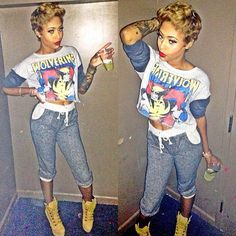 Swag.  I love this outfit :) :) !!