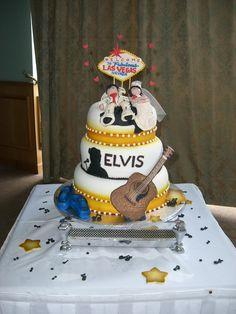 Theme wedding cake (our theme to be precise).
