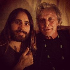 "Jaredleto: ""Me and the legendary Rutger Hauer…"