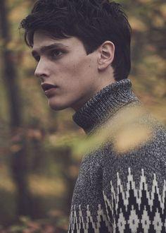 Grey zigzag jumper, Zara.