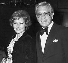Betty White and her husband, Allen Ludden.