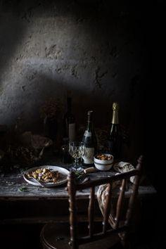At Ophelia's Home: Polenta Gnocchi with Mushroom Sauce