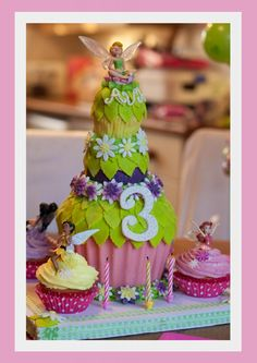 Tinkerbell Cake! idea for maija's birthday