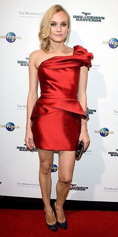 """Diane Kruger in Marchesa Resort 2010 at the Sydney premiere of """"Inglorious Basterds"""", August 2009"""