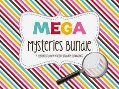 Win Melissa's comprehensive Mega Mysteries Bundle in today's giveaway!