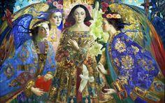 Annunciation 2 by Olga Suvorova