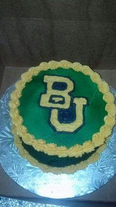 Baylor University cake