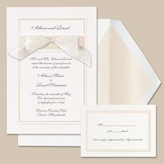 Outer border Simplicity Wedding Invitation | #exclusivelyweddings