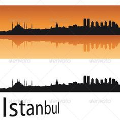 Buy Istanbul Skyline in Orange Background by paulrommer on GraphicRiver. Istanbul skyline in orange background in editable vector file Mountain Background, Orange Background, Vector File, Vector Graphics, Silhouette Vector, Shadow Box, Istanbul, Black Building, Meaningful Lyrics