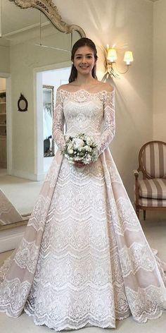 21 Top Wedding Dresses 2018 21 Wedding Dresses 2018 From Top Designers wedding dresses 2018 a line with long sleeves lace royal chemise Full gallery: weddingdressesgui… The post 21 Top Wedding Dresses 2018 appeared first on Beautiful Daily Shares. Wedding Dress Black, Disney Wedding Dresses, Gorgeous Wedding Dress, Designer Wedding Dresses, Bridal Dresses, Beautiful Dresses, Wedding Disney, Ivory Lace Wedding Dress, Disney Dresses