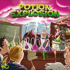 Potion Explosion   Board Game   BoardGameGeek