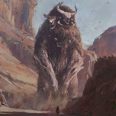 Fantasy Monster, Monster Art, Creature Concept Art, Creature Design, Fantasy Paintings, Fantasy Artwork, Alien Creatures, Fantasy Creatures, High Fantasy