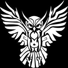 Tattoo Artist Black-and-gray Owl Tribal Gear PNG - animals, beak, bird, bird of prey, blackandgray Tribal Animal Tattoos, Tribal Animals, Tattoo Animal, Tribal Drawings, Trendy Tattoos, Tattoos For Guys, Cool Tattoos, 3d Tattoos, Small Tattoos