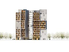 University of Southern Denmark Student Housing Winning Proposal / C.F. Møller Architects