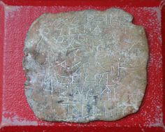 Tablette de difexion (envoûtement) trouvée à Eyguières (Bouches du Rhône)