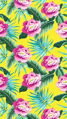 Freshen up your mobile or desktop backgrounds with these trendy free digital wallpapers! Phone Screen Wallpaper, Emoji Wallpaper, Love Wallpaper, Colorful Wallpaper, Cellphone Wallpaper, Wallpaper Backgrounds, Hibiscus, Wallpaper Shelves, Floral Banners