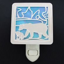 Polar bear nightlight