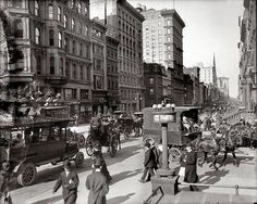 1905 NYC 5th Avenue and 42nd Street