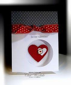 Милые сердцу Valentine Love Cards, Valentines Diy, Handmade Valentines Cards, Cute Cards, Diy Cards, Your Cards, Greeting Cards Handmade, Circle Punch, Envelopes