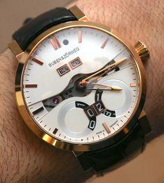 Buben & Zorweg One Perpetual Calendar Watch Hands-On Hands-On
