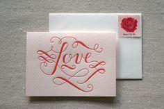 calligraphy valentine
