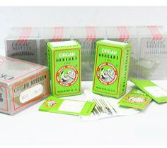 15x1 Flat Shank Home Needles - Size 09/65 Ball
