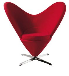 Image detail for -Heart Chair *CLEARANCE SALE* heart chair,panton heart chair,verner ...
