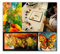 a few weeks ago at the CHA retreat one of our classes was with decorative paint artist debbie cotton an introduction to pebeo pain. Pebeo Paint, Evolution, Artist, Cotton, Painting, Artists, Painting Art, Paintings, Painted Canvas