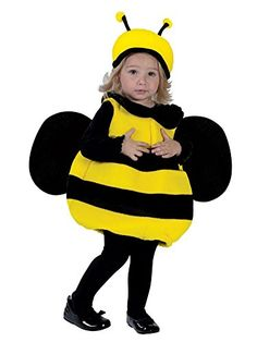 Fun World Toddler Girls Lil Bumble Bee Costume Plush Bumblebee Outfit 12-24 Months Fun World http://www.amazon.com/dp/B00NLPAKSS/ref=cm_sw_r_pi_dp_FW45wb164V7GM