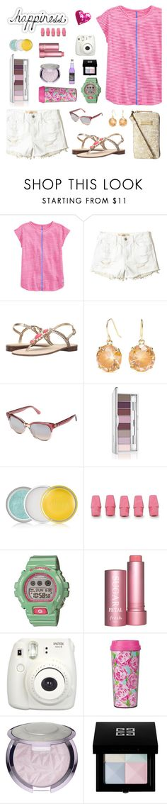 """Untitled #975"" by liska1986 ❤ liked on Polyvore featuring Vineyard Vines, Hollister Co., Lilly Pulitzer, Kate Spade, Clinique, G-Shock, Fresh, Fujifilm, Morgan and Givenchy"