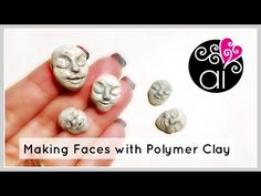 How To Sculpt Sleeping Faces in Polymer Clay | Tutorial - YouTube