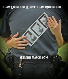 #baby announcement #LEO #police baby