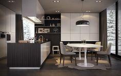 Poliform Kitchen by Diego Querol, via Behance