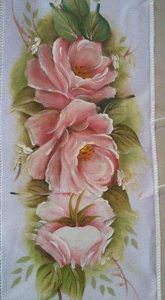 Pintura em Tecido: 75 Modelos de Flores + Riscos Grátis