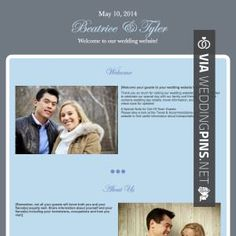 Wow Wedding Website Examples The Knot Check Out More Great Pics At