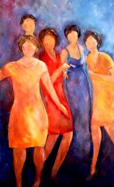 sisterhood 08/14 acryl
