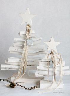 Deko Weihnachtsbaum Holz klein - HOUSE of IDEAS Orientalische Dekorationsartikel und Bunzlauer Keramik