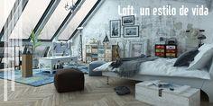 Loft como estilo de vida es, un concepto moderno y cada vez más usado. http://www.decoblog.es/loft-como-estilo-de-vida/ #oksofás #estilodevida #relax #decoración #loft