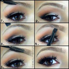 Easy Natural Eyebrow Tutorial #thebeautybox1211 #youtube