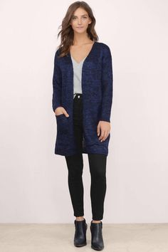 Find your comfort and warmth with long cardigans long cardigan cardigans, blue, maddie boyfriend cardigan, . Navy Cardigan Outfit, Navy Blue Cardigan, Long Cardigan, Knit Cardigan, Boyfriend Cardigan, Slim Fit Pants, Cool Outfits, Stylish Outfits, How To Wear
