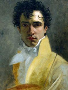 Sodomites with Unpleasant Accents   monsieurlabette:   Self Portrait, Eugène Delacroix