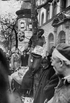 A Rip in the Iron Curtain: Photos From the Hungarian Revolution, 1956 | LIFE.com....street justice