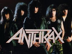 anthrax the band | Leather Rebel: Anthrax