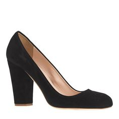 Blakely suede pumps   black   size 7H medium   $238