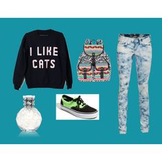 I like cats3, created by smepley on Polyvore