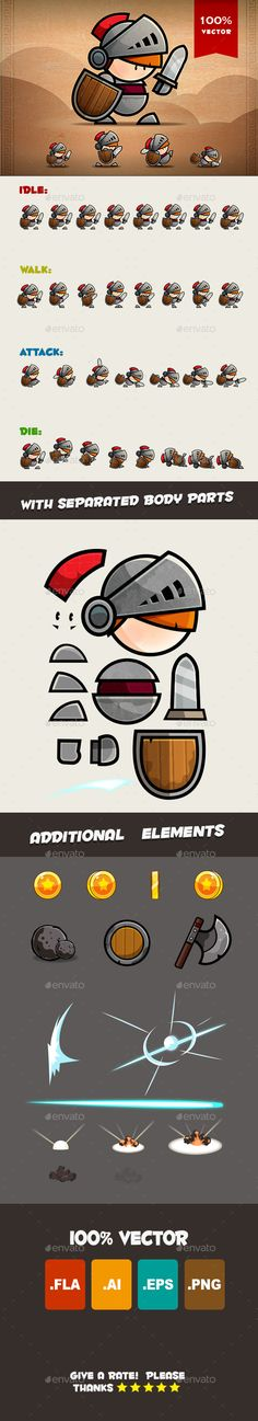 Knight Spritesheets (Sprites)